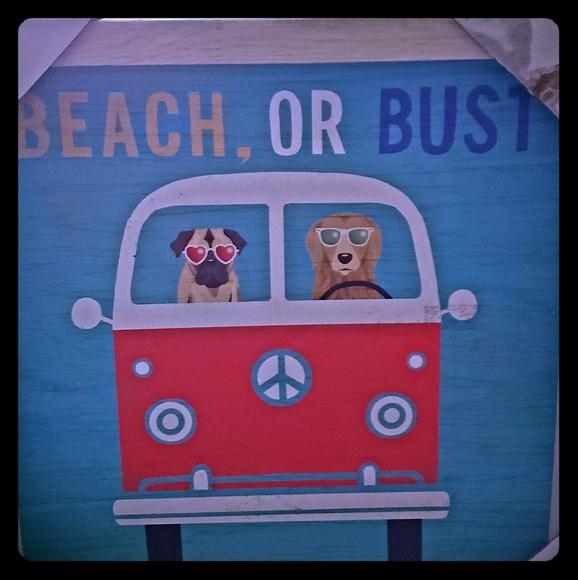 Beach or bust